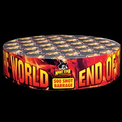 End Of The World 500 Shot Barrage